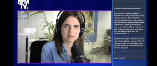 BFMTV sur Twitch : « On montre que les journalistes ne sont pas des robots sur un plateau TV »