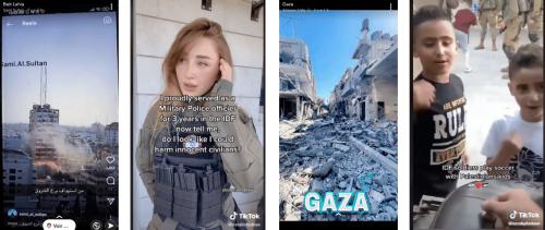 Conflit israélo-palestinien : la guerre de l'image se joue sur Snapchat et TikTok