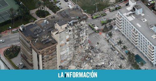 Al menos un muerto y 50 desaparecidos tras el desplome de un edificio en Miami