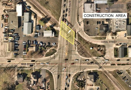 Route 47 railroad crossing in Huntley to be closed Wednesday for maintenance