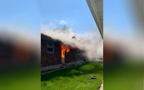 Nearly 2 dozen residents displaced after fire damages Zion apartment complex