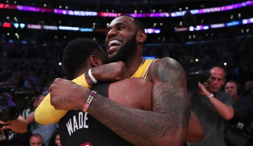 LeBron James offers jubilant reaction to Dwyane Wade becoming part owner of Utah Jazz