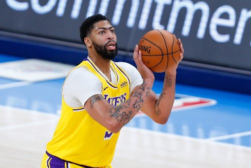Report: Anthony Davis could return to play for Lakers in next 7-10 days