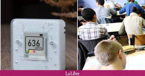 Bruxelles Environnement acquiert 1.350 appareils de mesure de CO2 pour les écoles