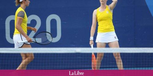 JO: Elise Mertens et Alison Van Uytvanck éliminées d'entrée de jeu en double!