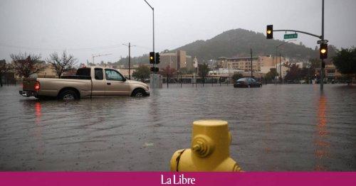Inondations, coulées de boue... La côte Ouest des Etats-Unis touchée par une tempête