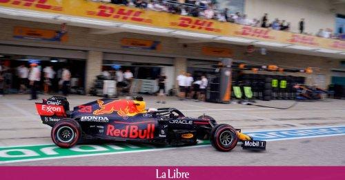 GP des Etats-Unis: Verstappen prend la pole position, Hamilton à ses trousses