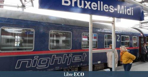 Au départ de la Belgique, le train ne concurrence encore que très peu l'avion : les trains de nuit pour changer la donne ?