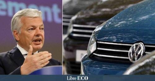 Volkswagen doit indemniser tous ses clients lésés par le Dieselgate, exhorte l'Union européenne