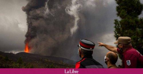 Eruption d'un volcan aux Canaries: TUI rapatrie jeudi 83 Belges depuis La Palma