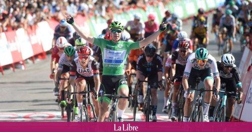 Tour d'Espagne : le Néerlandais Jakobsen s'adjuge au sprint la 16e étape