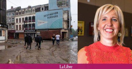 """A Verviers, la bourgmestre n'a pas reçu l'alerte d'évacuation lors des inondations: """"Je me suis sentie impuissante et abandonnée"""""""