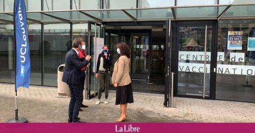 L'antenne de vaccination de Louvain-la-Neuve tourne bien dès l'ouverture