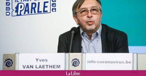 """Yves Van Laethem : """"Après l'été 2022, on devrait pouvoir gérer ce virus comme nous gérons d'autres maladies infectieuses"""""""