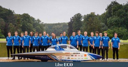 Des étudiants belges vont traverser le Sahara lors d'une course en voiture solaire