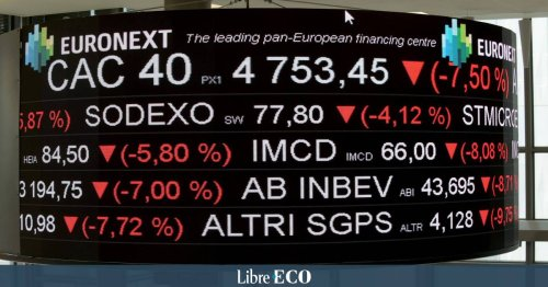 Les Bourses européennes perdent pied, Paris et Francfort dégringolent