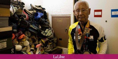 JO-2020: un Japonais de 88 ans prépare l'Ironman en regardant les Jeux à la TV