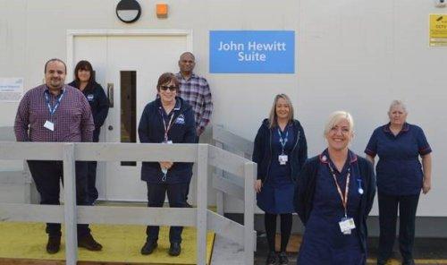 Royal Blackburn Hospital emergency mental health unit opens next to A&E