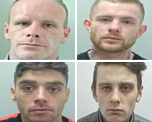 These four men are the most wanted people in East Lancashire this May