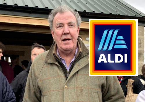 How much a weekly shop could cost at Jeremy Clarkson's farm shop compared to Aldi
