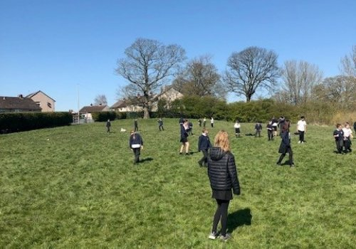 Primary school fundraising to develop outdoor area for pupils and public