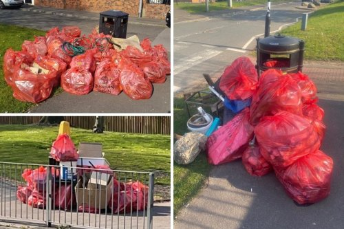 Mosque volunteers pick up 250 bags of rubbish and clear 100 streets in two hours!