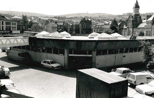 Darwen's new-look market hall revealed in 1989