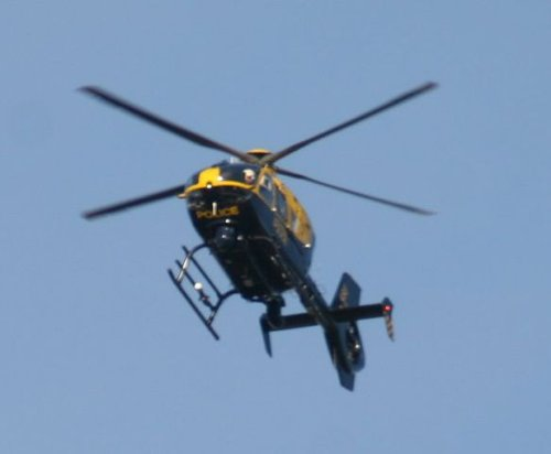 Police helicopter deployed following high-value thefts