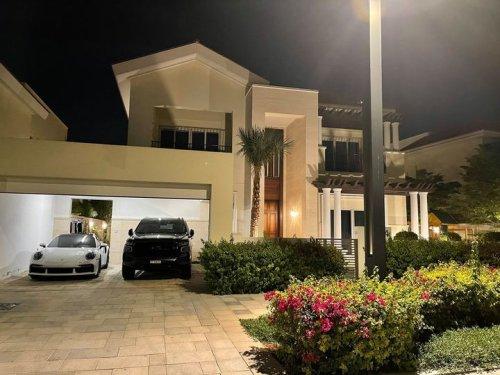 Amir Khan shows off stunning new Dubai holiday home