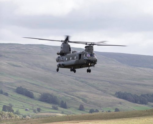 Why you might see Chinook military helicopters in Lancashire skies this week