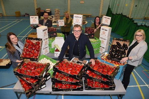 500 families given food and £10k raised for Blackburn Youth Zone cause