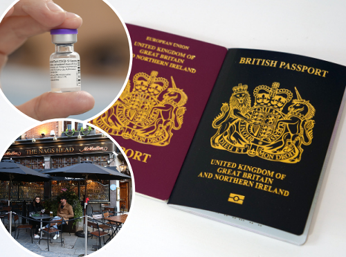 Plea to Boris Johnson to reopen indoor hospitality on May 17 amidst vaccine passport concerns