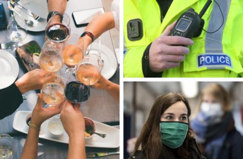 Police warning to pub-goers to follow the coronavirus rules