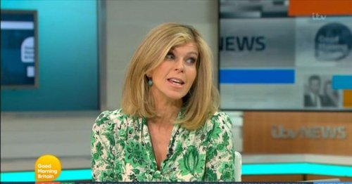 Kate Garraway calls out GMB co-host for not getting her a birthday present