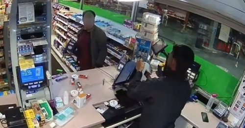 Police response to video of man hurling racist abuse at worker