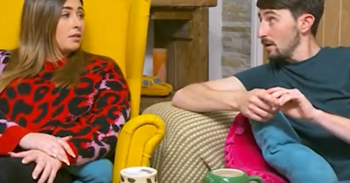 Gogglebox stars Sophie and Pete furious at energy prices and empty shelves