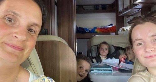 The Radford family make 'most amazing memories' on Scotland holiday