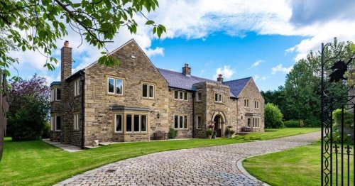 Magnificent 19th Century Lancs manor back on market at reduced price