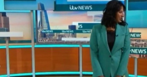GMB's Ranvir Singh messes up on show then speaks out online