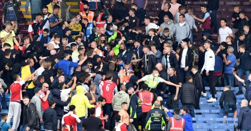 Burnley and Arsenal crowd trouble at Turf Moor being investigated by FA
