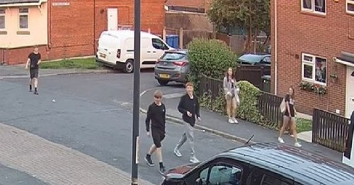 Stones thrown at man in racist attack in Chorley