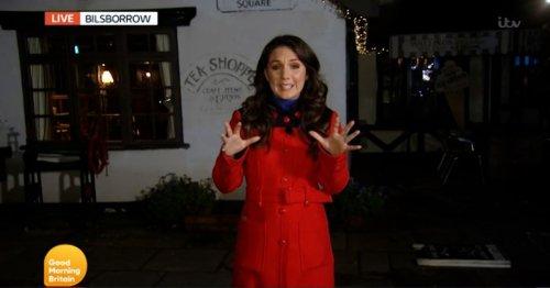 GMB weather presenter Laura Tobin slammed for travelling to Lancs village