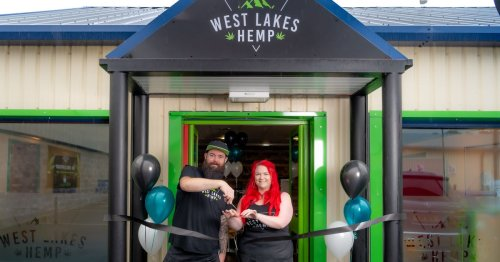 Cumbria's first CBD cafe serving hemp coffee, cakes and sandwiches
