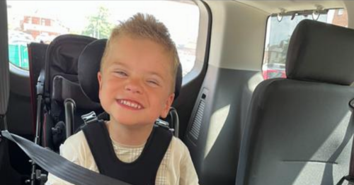 Mum desperate to fund life-changing surgery for son with cerebral palsy
