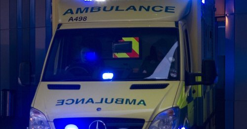 Two in hospital after Barnoldswick crash traps motorist in car