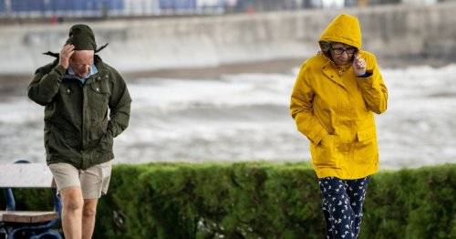 Lancashire's weekend weather forecast as Storm Evert hits UK