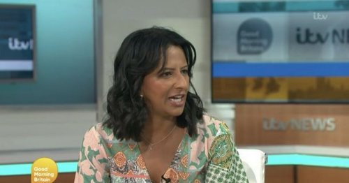 Ranvir Singh fires back at GMB co-host after remark over her lines