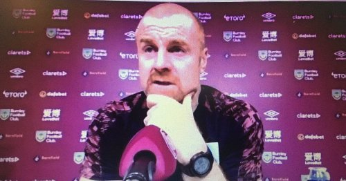 Dyche press conference live: Burnley boss on Manchester United and Pope's injury