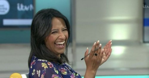 Ranvir Singh applauds as Andi Peters swipes at BBC and GB News ratings