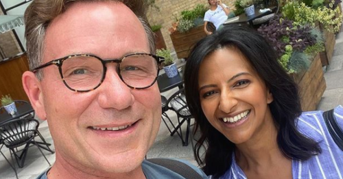 GMB's Ranvir Singh celebrates special anniversary with Richard Arnold